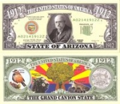 Сувенирные доллары, Arizona - 2003 Funny Money by AAC