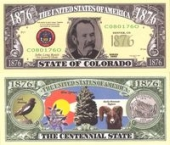 Сувенирные доллары, Colorado - 2003 Funny Money by AAC