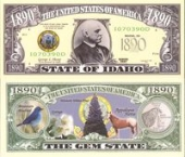 Сувенирные доллары, Idaho - 2003 Funny Money by AAC
