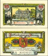 Altenkirchen, 25 пфеннигов 1921 -  (SoC# 4.a)