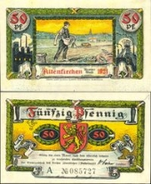 Altenkirchen, 50 пфеннигов 1921 -  (SoC# 5.a)