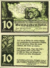 Benneckenstein, 10 пфеннигов 1921 -  (SoC# 3.a)