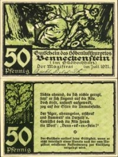 Benneckenstein, 50 пфеннигов 1921 -  (SoC# 5.a)