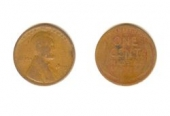 Wheat Cent, 1 цент 1919 -  / США (F)
