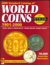 Книги по нумизматике, 2008 World Coins 1901- 2000 (Krause publ., 35th ed.)