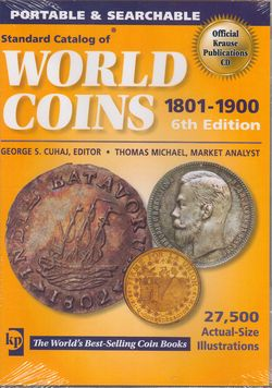DVD, World Coins 1801-1900 (Krause publ., 6th ed.)