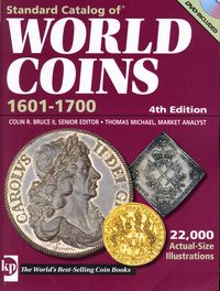 2009 World Coins, 1601-1700, 4th Ed. (+ DVD ! )