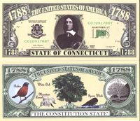 Connecticut - 2003 Funny Money by AAC