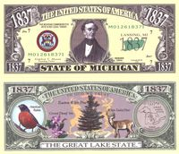 Michigan - 2003 Funny Money by AAC