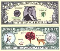 Mississippi - 2003 Funny Money by AAC