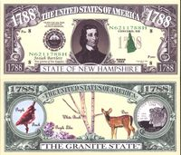 New Hampshire - 2003 Funny Money by AAC