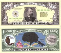 North Dakota - 2003 Funny Money by AAC