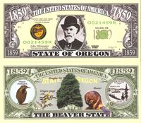 Oregon - 2003 Funny Money by AAC