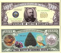 South Dakota - 2003 Funny Money by AAC