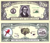 Virginia - 2003 Funny Money by AAC