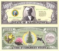 Washington - 2003 Funny Money by AAC
